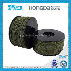 #18 nylon rope 16 strand nylon braided line braided fishing line