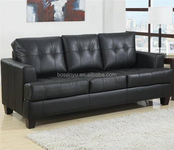 Faux Leather Pull Out Sofa Bed Sleeping Multi Function