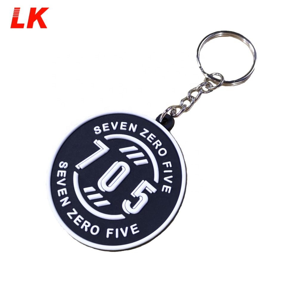 Cheap Custom Souvenir Words Cartoon Soft Pvc Keychain Custom Logo