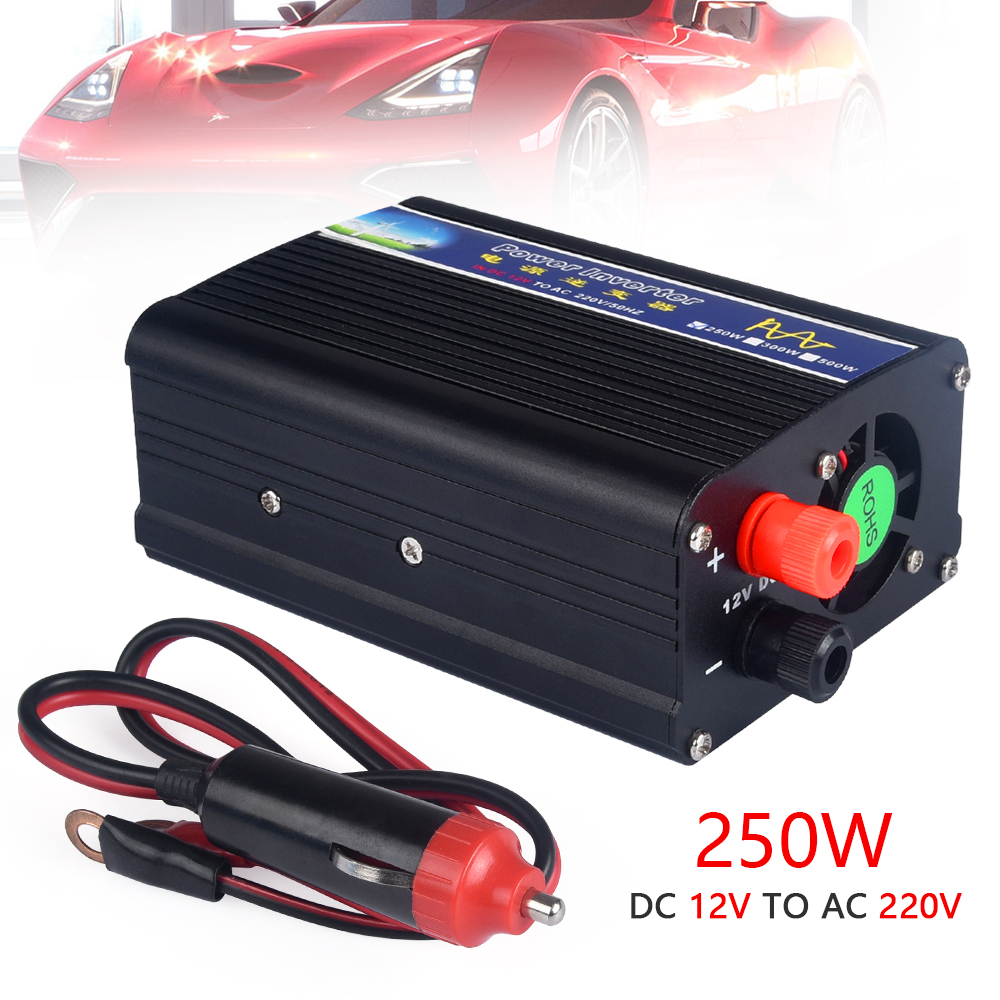 250 w power inverter auto inverter DC12v zu AC 220 v