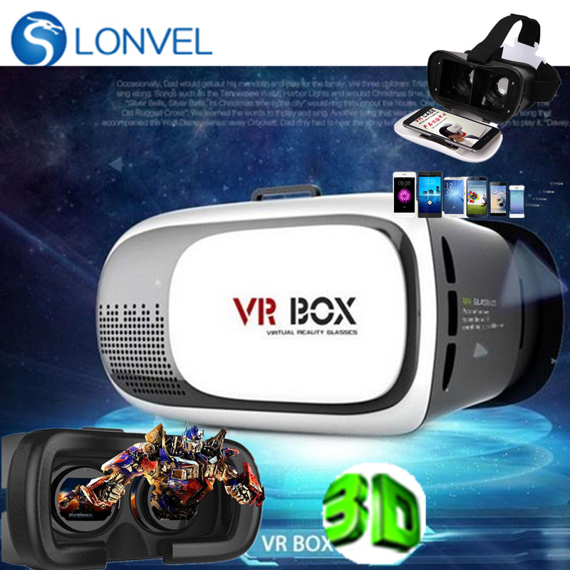 2016 ! 3D VR Box Glasses Upgraded Version Virtual Reality Headset 3D <strong>Video</strong> for Smart Phone + Bluetooth film VR box
