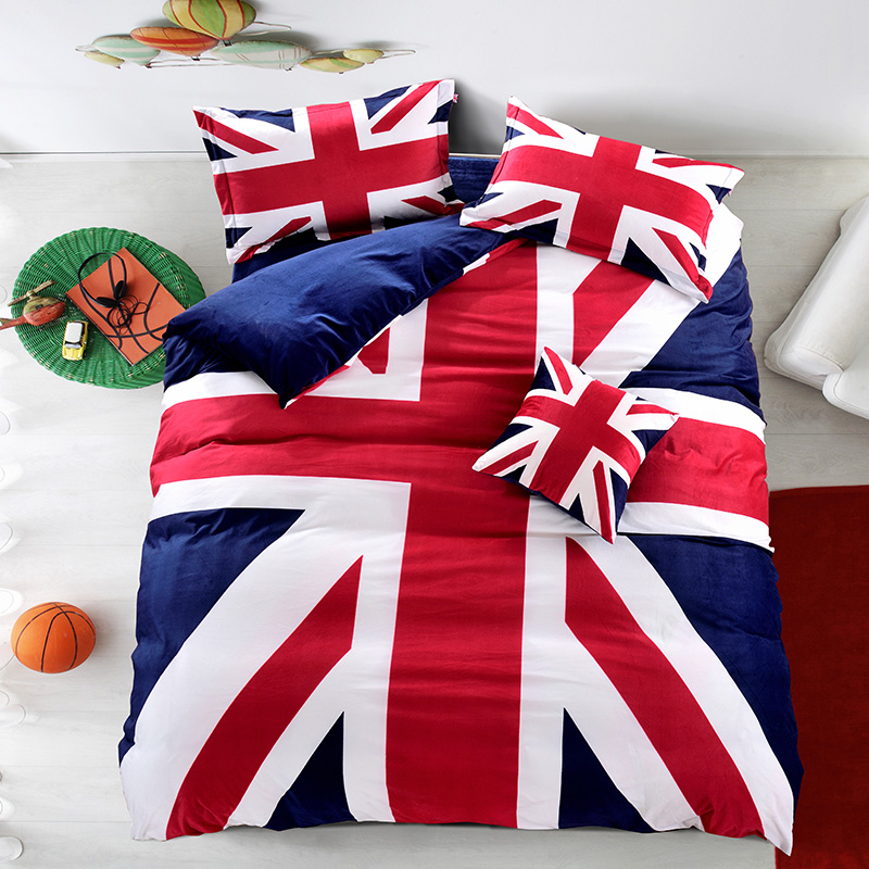 online kaufen gro handel union jack bettw sche aus china union jack bettw sche gro h ndler. Black Bedroom Furniture Sets. Home Design Ideas