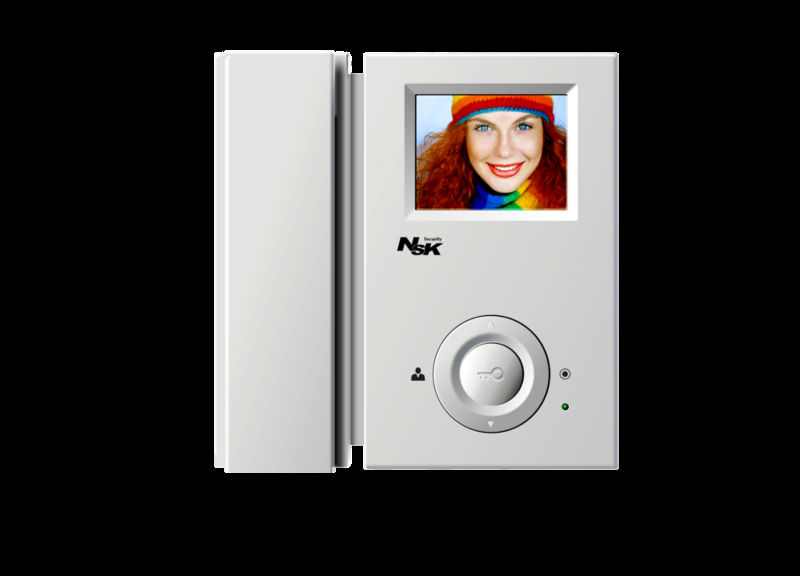 3.5 inch color TFT LCD 4 wired digital video doorphone intercom sip video door house safe systems