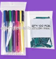 writing materials packing ziplock bag or with write block