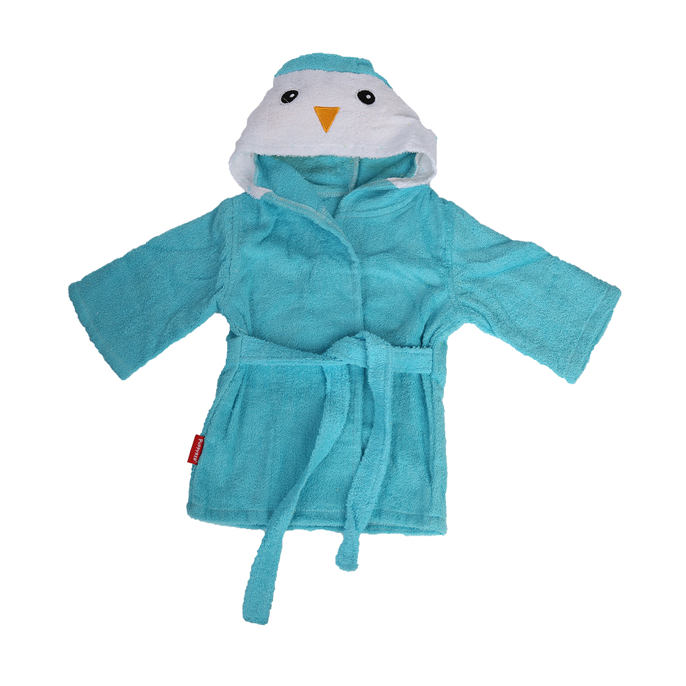 Made in China super assorbente raso spa bambini robes spugna vesti di stoffa all'ingrosso