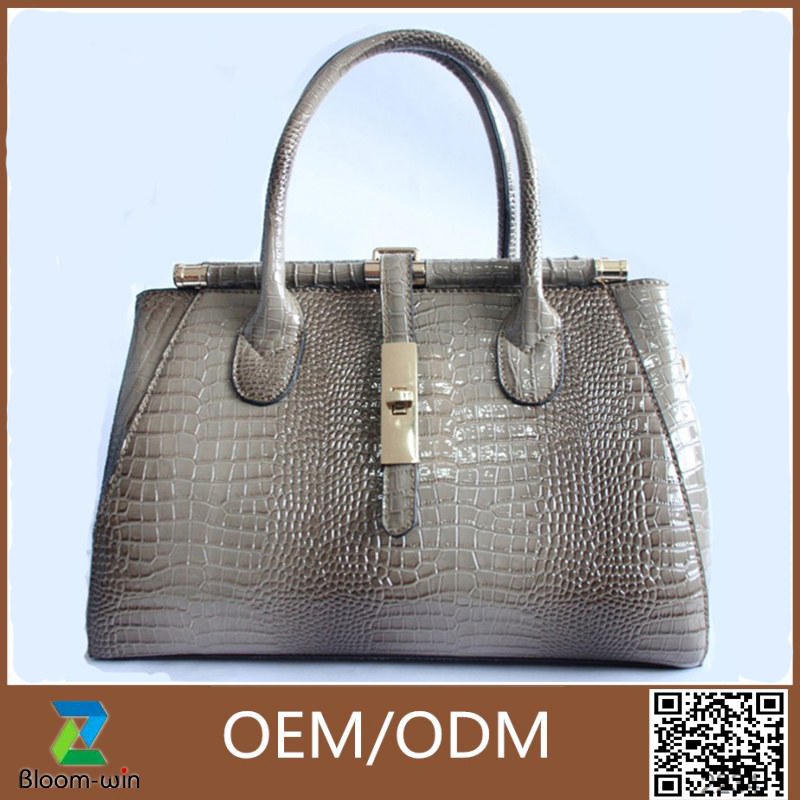 New arrival designer bag cheap handbag ladies 2017 for women crocodile leather bags Thailand