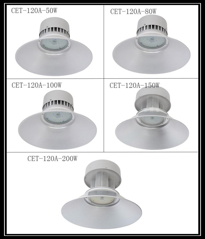 De China, Venta caliente, de seguridad de LED COB LED alta Bahía luz 100w