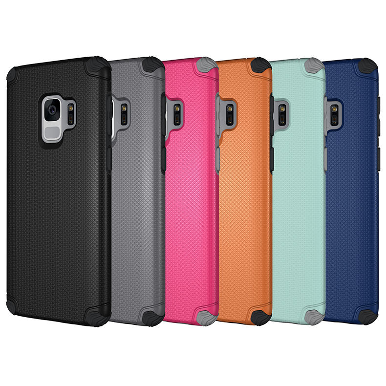 Shockproof Hybrid Armor Rugged Mobile Cell Phone Cover Case For Samsung S9,For Samsung Galaxy S10 Case