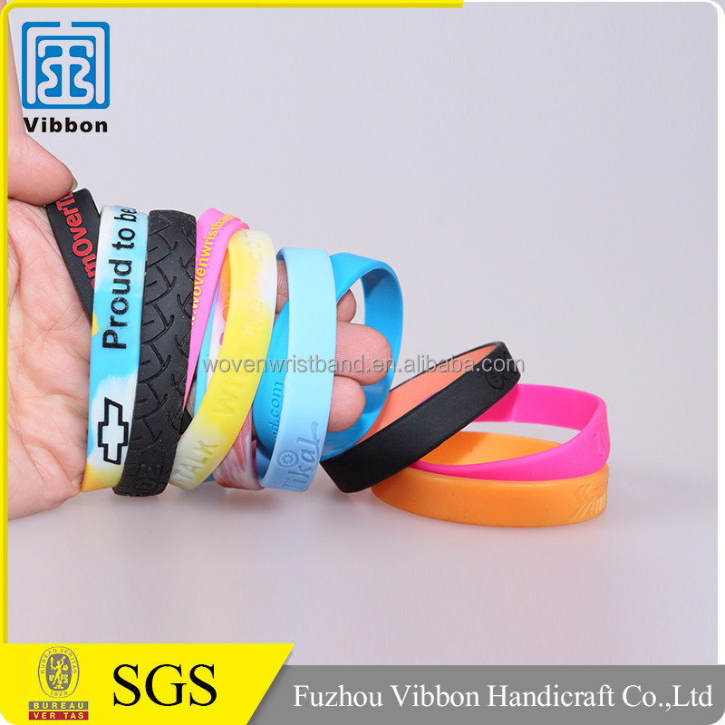 China supplier promotional top quality wrist band silicone