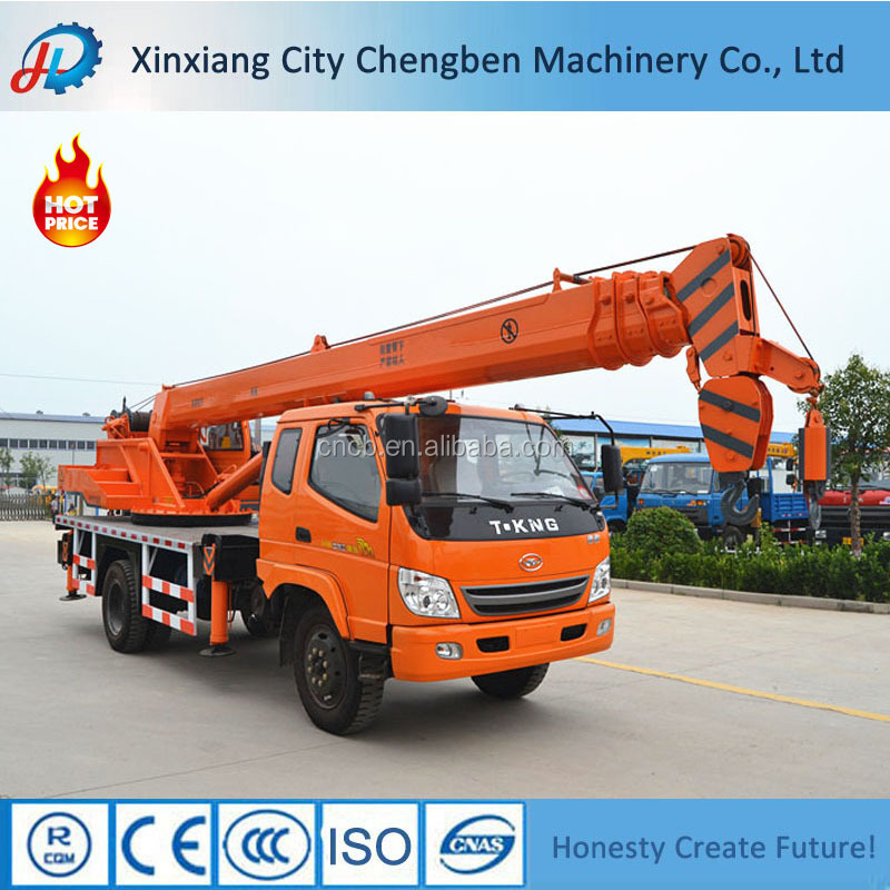 All terrian used Light Lifting Crane With Truck For Sale