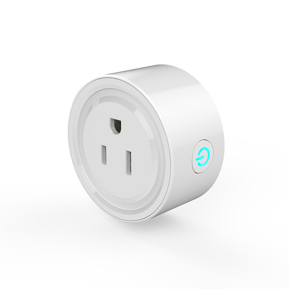 Smart Wifi Socket US Power Plug Mobile APP Remote Control Works with Amazon Alexa Google Home for Smart Life