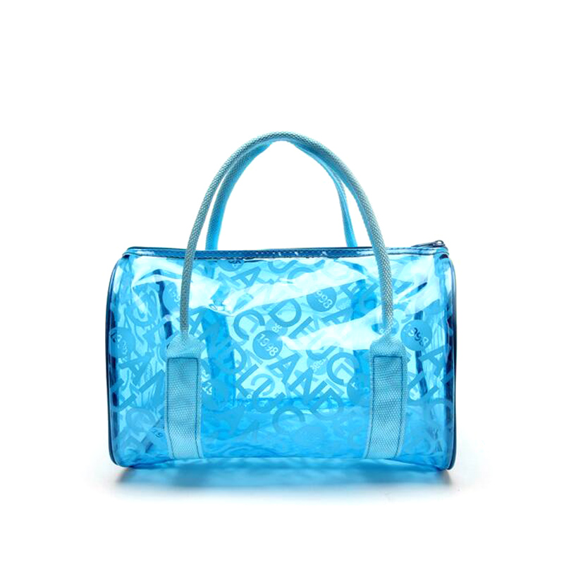 Custom Fashion Design Clear Plastic Tote Bags Recycled Bag Product On Alibaba