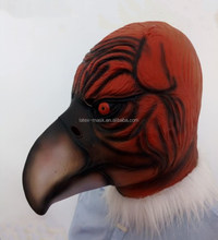 Brand new Masquerade Full Head Party Vulture man Cosplay Carnival Costume Latex Bird animal Masks