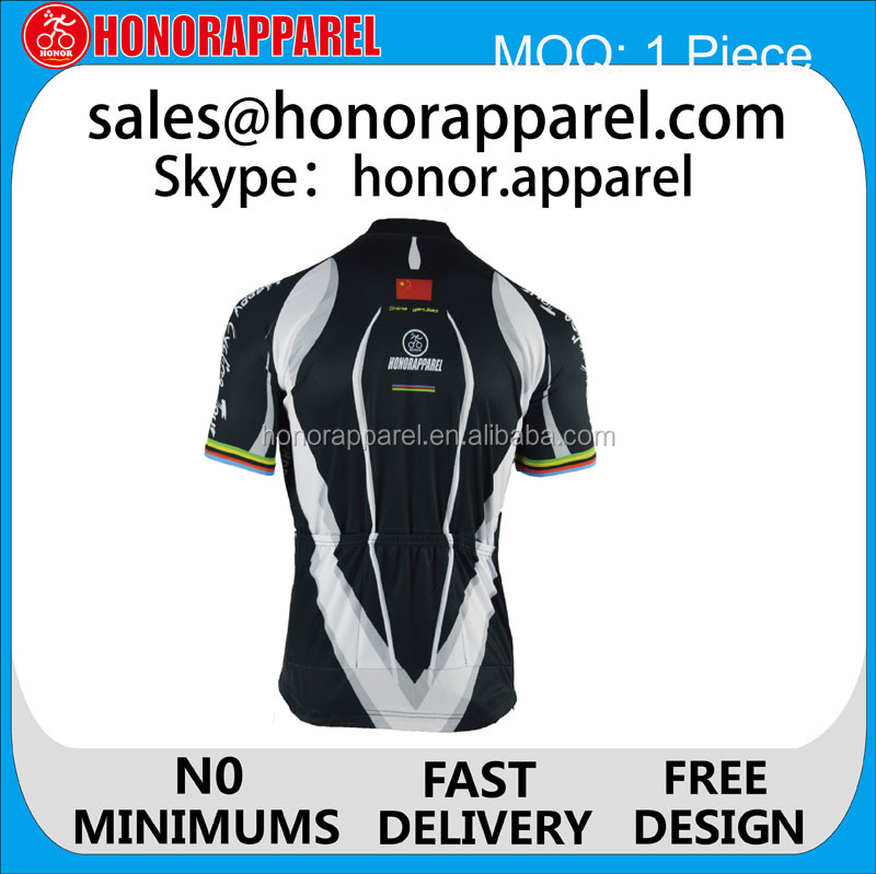 custom children cycling jersey no minimum