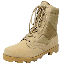 Xinxing army boots Khaki desert military army tactical men's  with zipper boots MB23