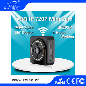 Night Vision Motion Detect Alarm Camcorder Wireless Mini WIFI IP Camera