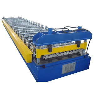 Metal High Rib Box Profile Roof Making Roll Forming Machine
