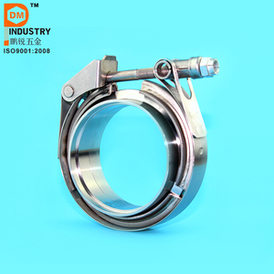 S.S 304 Interlocking V band clamp and flanges size 1.5 to 5.0 inch