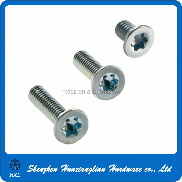 Screw Fasteners Supply Torx M4 M6 M8 Flat Head Screw With ...