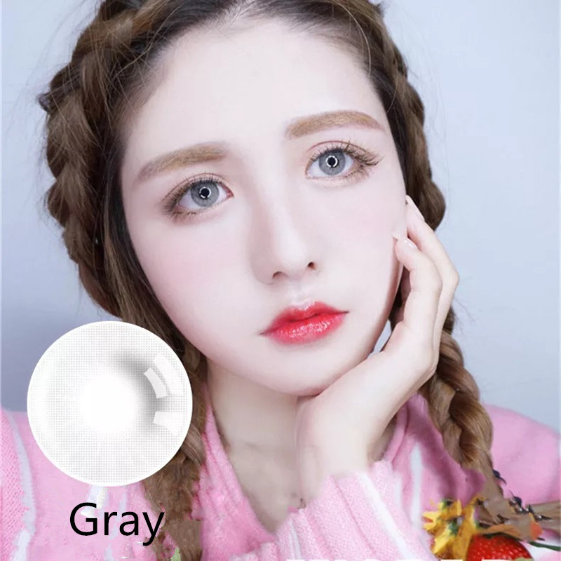 Trade assurance customized eye contact lens eos korea with system