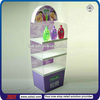 TSD-A370 Custom retail store pos floor Shower Gel display stand/skin care display stand/shampoo display stand