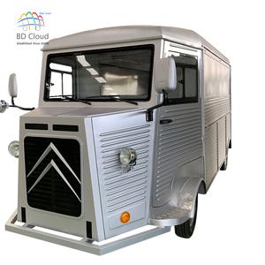 New street food vending cart / electric vintage VW food truck / mobile food trailer sale