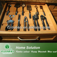 Professional custom made solid wooden kitchen cabient drawers