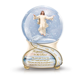 Custom resin jesus figurines snow globe For Christmas