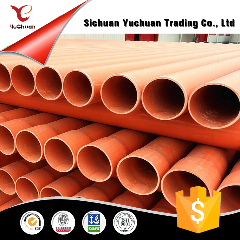 high quality C Pvc cable pipes for electricity