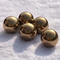 China manufacture 30mm large solid brass/ copper ball