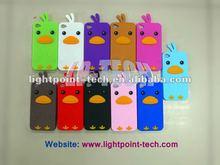 Bird Design 3D Silicone Case For iPod Touch 4
