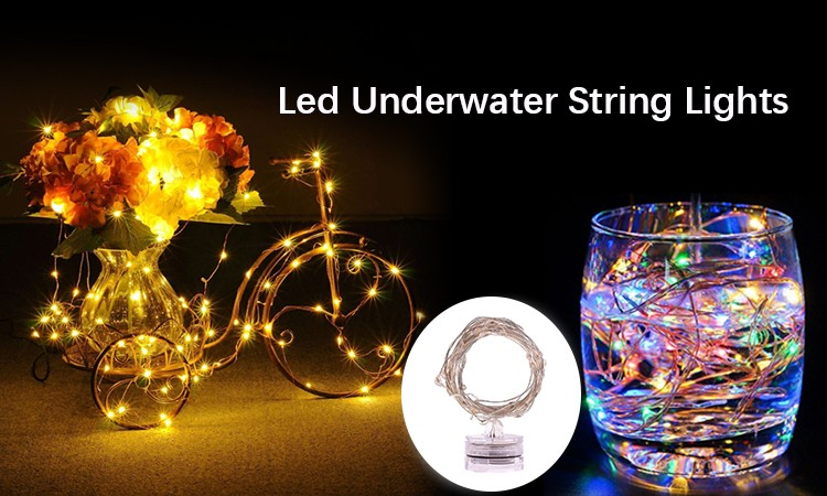 Led String Lights Battery Operated Underwater Light Battery Operated Led String Lights