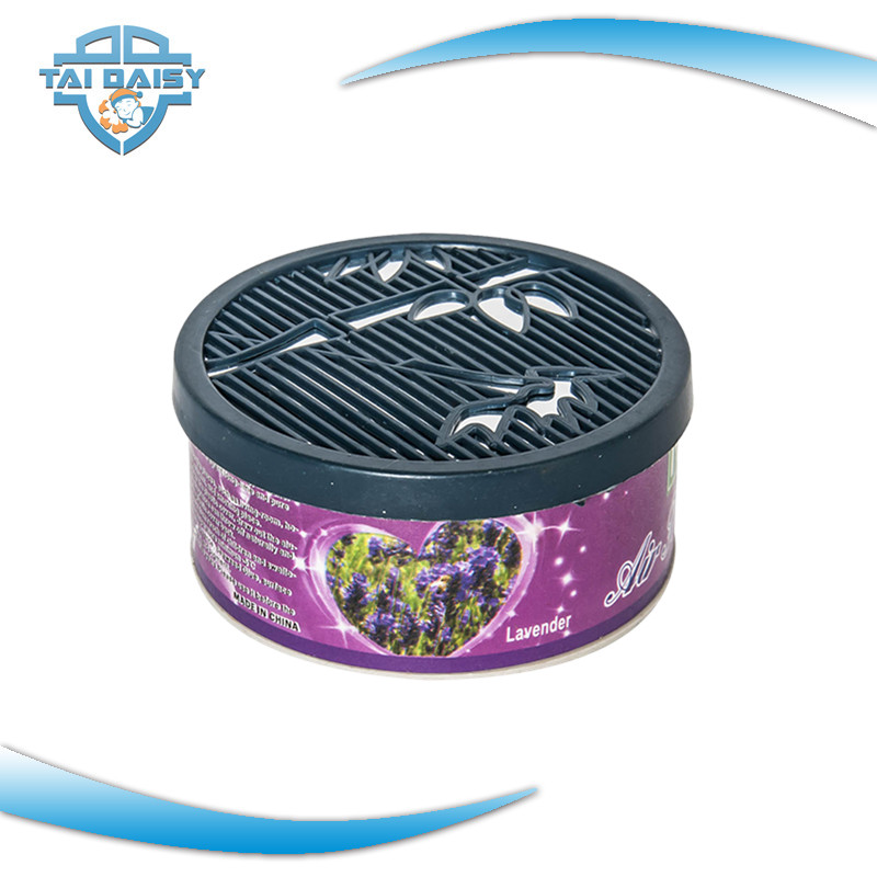 Manufacture Hot selling Lavender Scent Gel Air Freshener for Car/Room/Toilet