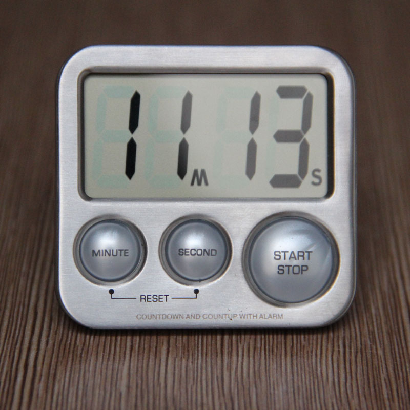 Large Loud Back Magnet LCD Countdown Digital Kitchen Timer