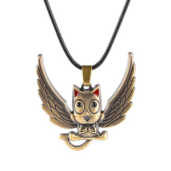 Hot anime fairy tail trendy owl happy pendant necklace jewelry buy hot anime fairy tail trendy owl happy pendant necklace jewelry aloadofball Image collections