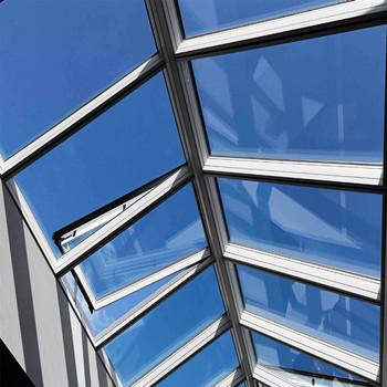 En Aluminium Fenêtre De Toit En Verre Puits De Lumière Personnalisé