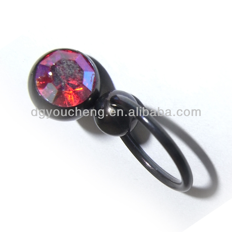 316l for Pierced nipple stretching jewelry