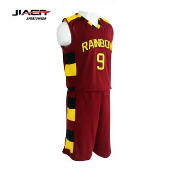 74b14e827e1 2017 basketball jersey uniform design red and logo usa basketball uniform