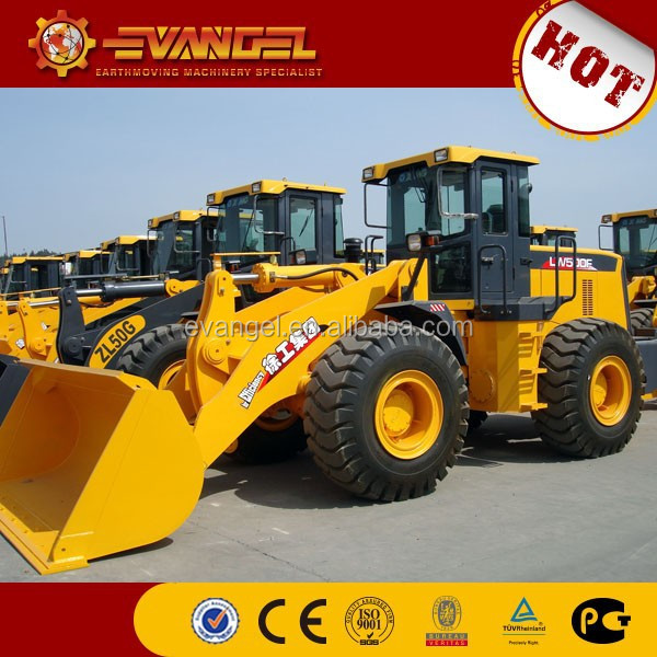 cheap price XCMG ZL50/ZL50G/ZL50GN/5t wheel loader with CE