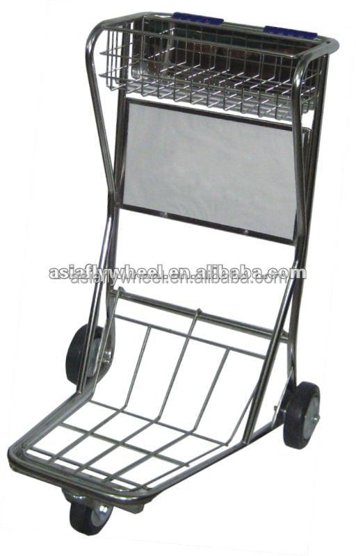 Airline luggage trolley