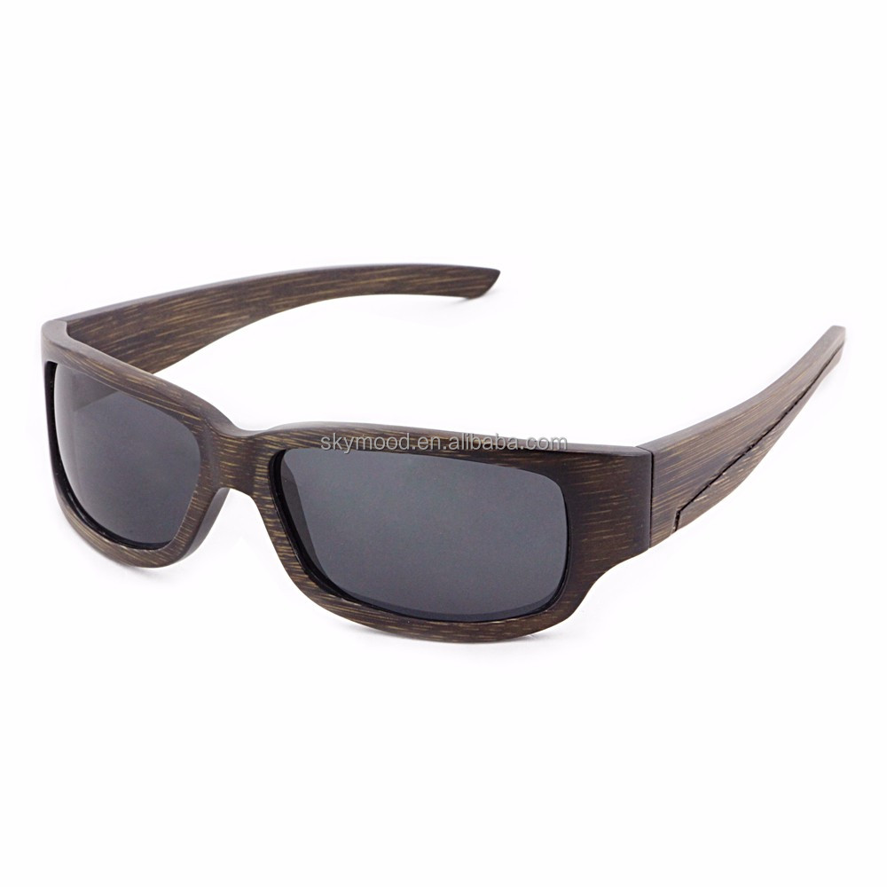 Bamboo As Sports Sun Glasses Beach Volleyball Cycling Custom Mens HD UV400 Polarized Outdo Sports Sunglasses