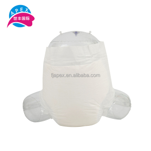 High quality guaranteed disposable absorbent pad printed adult diaper