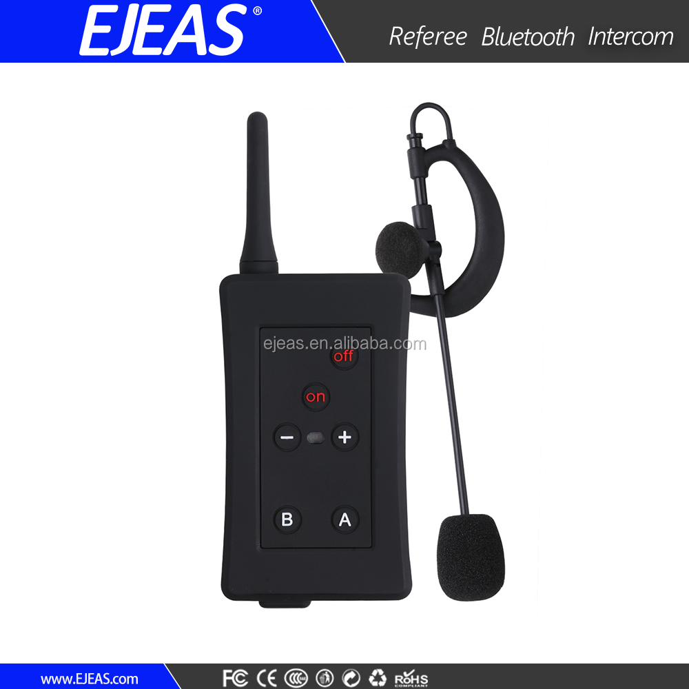 EJEAS Bluetooth wireless referee communication system for soccer/football games