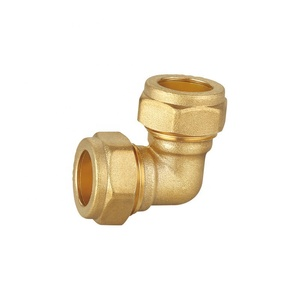Manufacture Sell Lower Price Higher Pressure Copper Pipe Brass Compression Fittings 22mm