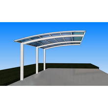 factory price USA Stylish and luxury aluminum car port available in 5 colors, car shed