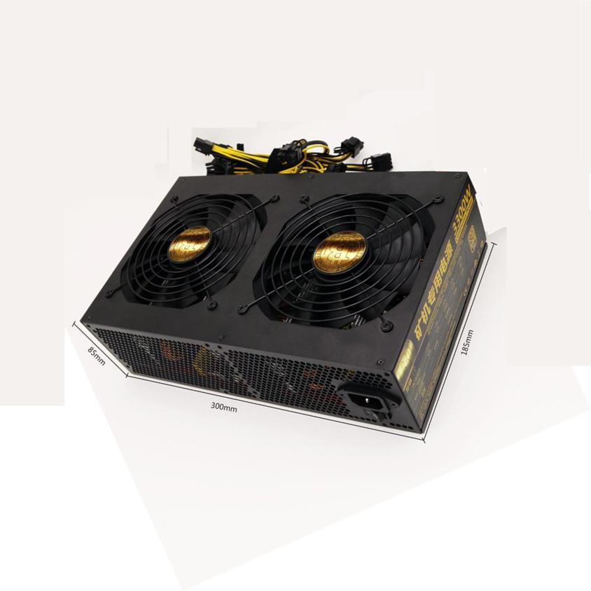 110V 2000W Ultra-high Coin Mining Power Supply FS For 8 GPU Ethereum Miner ETH