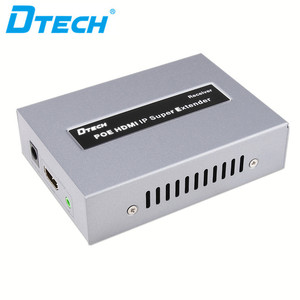 DTECH HD 1080P 120m passive poe ip hdmi extender rx tx support cascading