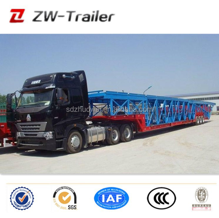 China Good Quality Car Hauler Manufacturer/ Auto Transport Trailer ...
