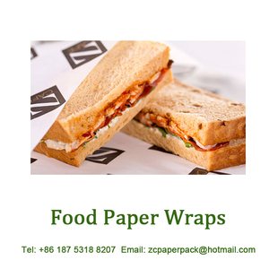 Food Service PE Coated Deli Paper for Burger Restaurant