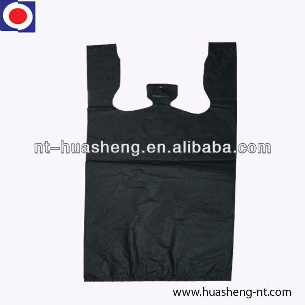hdpe black recycle plastic bag